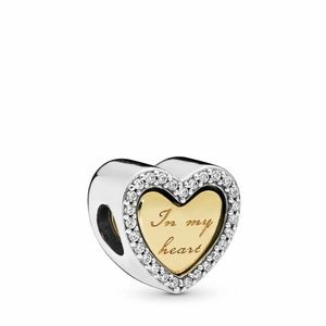 AUTHENTIC PANDORA In My Heart Charm
